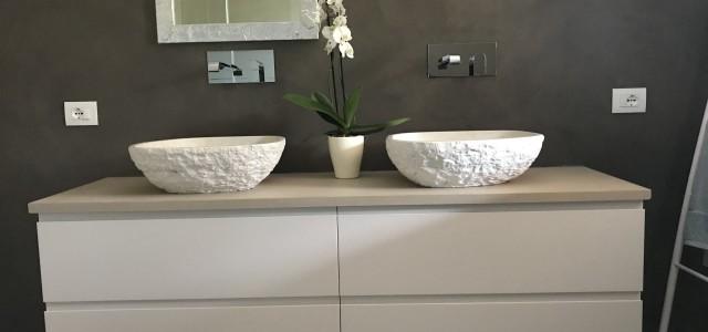 Lavabi in Biancone
