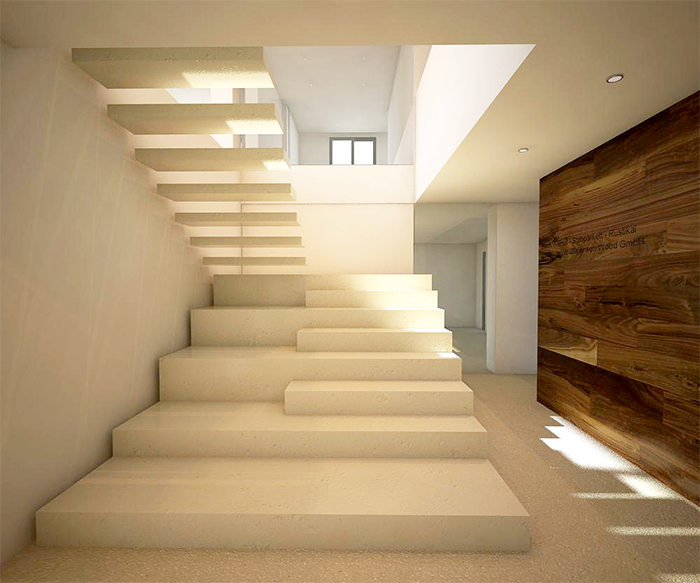Scale interne in marmo elegant scale interne di marmo for Scale in marmo per interni moderne